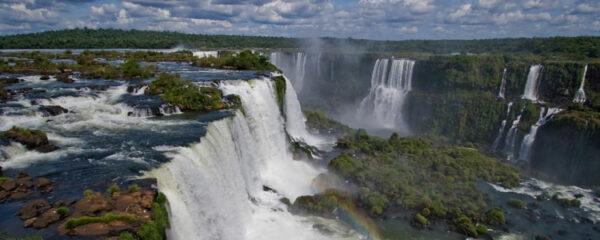 Les chutes de l'Iguazù